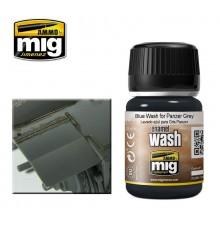 AMIG1006 Blue wash for panzer grey 35 ml.