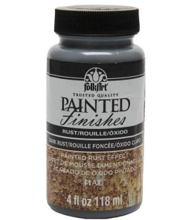 5103 Oxido Oscuro Pintura FolkArt Painted Finishes 118 ml.