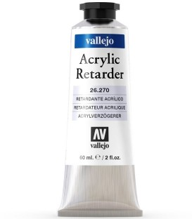 Acrylic retarder Vallejo 60 ml.
