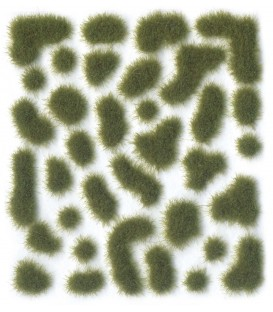 SC401 - Dry Green Wild Tuft Small 2 mm Vallejo Scenery