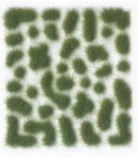 SC406 - Green Wild Tuft Medium 4 mm Vallejo Scenery