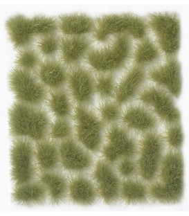 SC417 Light Green Wild Tuft Large 6 mm Vallejo Scenery