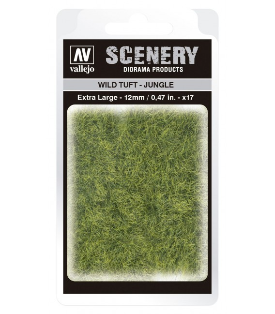 SC428 Jungle Wild Tuft Extra Large 12 mm Vallejo Scenery