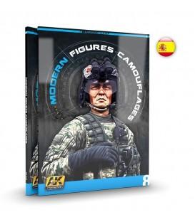AK248 AK Learning 8: Camuflajes Modernos para Figuras - Castellano