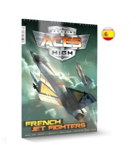 AK2932 Aces High Issue 15 French Jet Fighters - Castellano
