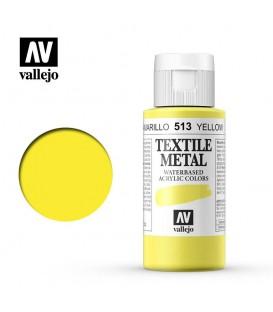513 Yellow metallic Textile Color Vallejo 60 ml.