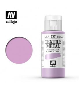 537 Lilac metallic Textile Color Vallejo 60 ml.