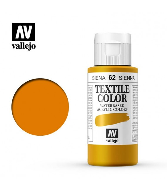62 Siena Textile Color Vallejo 60 ml.
