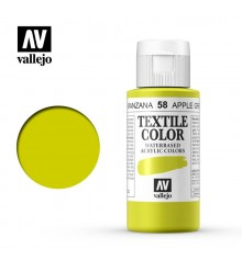 58 Apple Green Textile Color Vallejo 60 ml.