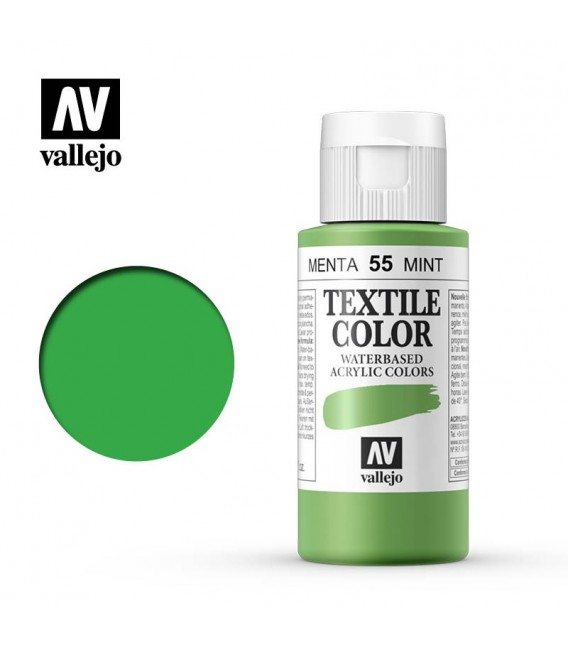 55 Menta Textile Color Vallejo 60 ml.