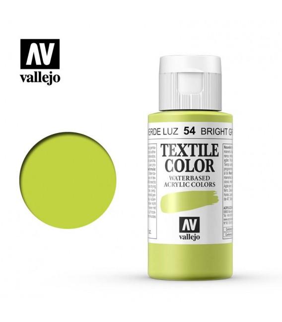 54 Bright Green Textile Color Vallejo 60 ml.