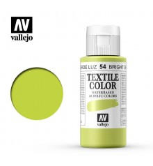 54 Bright Green Textile Color Vallejo 60 ml.