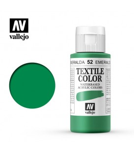 52 Emerald Green Textile Color Vallejo 60 ml.