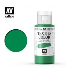 52 Emerald Green Textile Color Vallejo 60 ml.