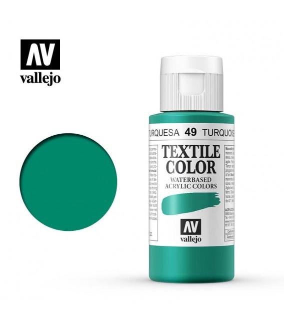 49 Duck Blue Textile Color Vallejo 60 ml.