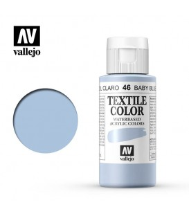46 Baby Blue Textile Color Vallejo 60 ml.