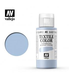 46 Baby Blue Textile Color Vallejo 60 ml.