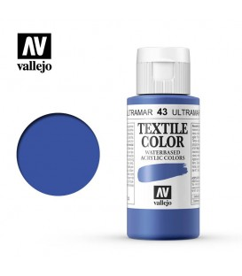 43 Blue Textile Color Vallejo 60 ml.