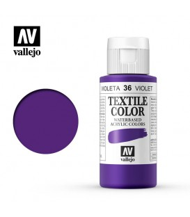 36 Violeta de Parma Textile Color Vallejo 60 ml.
