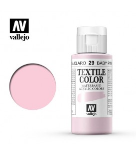29 Rosa Clar Textile Color Vallejo 60 ml.