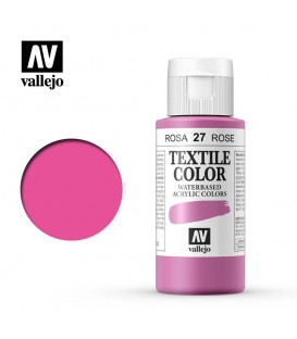 27 Rosa Bengala Textile Color Vallejo 60 ml.