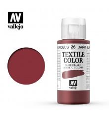 26 Dark Burgundy Textile Color Vallejo 60 ml.