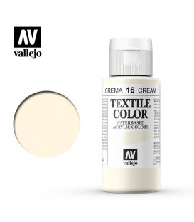 16 Crema Textile Color Vallejo 60 ml.