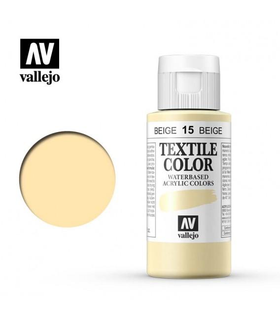 15 Beige Textile Color Vallejo 60 ml.