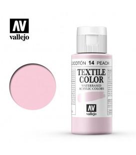 14 Peach Textile Color Vallejo 60 ml.
