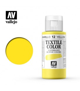 12 Groc Textile Color Vallejo 60 ml.