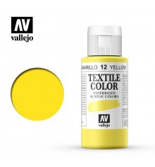 12 Yellow Textile Color Vallejo 60 ml.