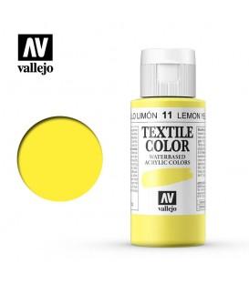 11 Lemon Yellow Textile Color Vallejo 60 ml.
