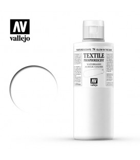 74 Glow in the darck Textile Color Vallejo 200 ml.