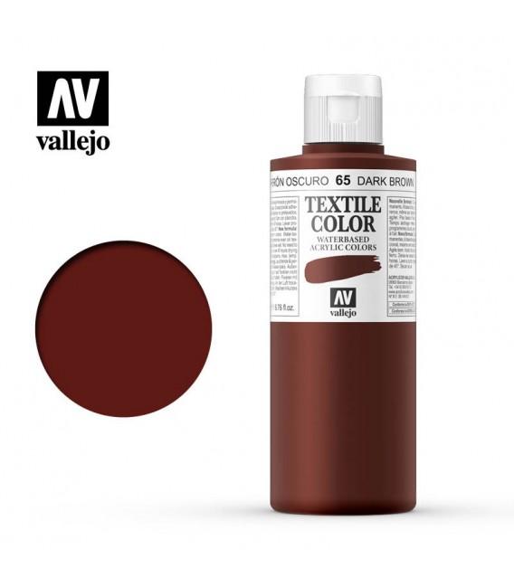 65 Velvet Brown Textile Color Vallejo 200 ml.