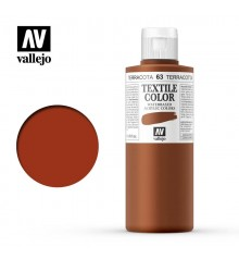 63 Indian Red Textile Color Vallejo 200 ml.