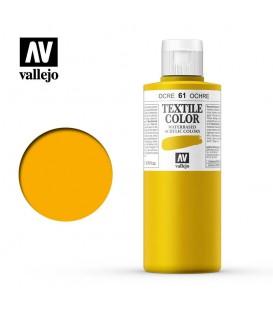 61 Yellow Ochre Textile Color Vallejo 200 ml.