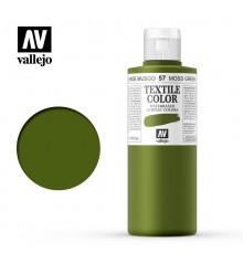 57 Moss Green Textile Color Vallejo 200 ml.