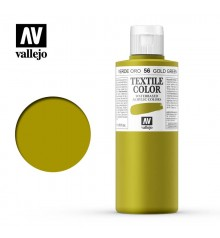 56 Gold Green Textile Color Vallejo 200 ml.