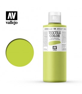 54 Bright Green Textile Color Vallejo 200 ml.
