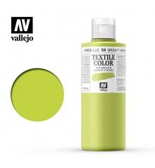 54 Bright Green Textile Color Vallejo 200 ml.