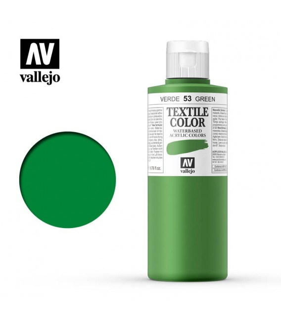 52 Green Textile Color Vallejo 200 ml.