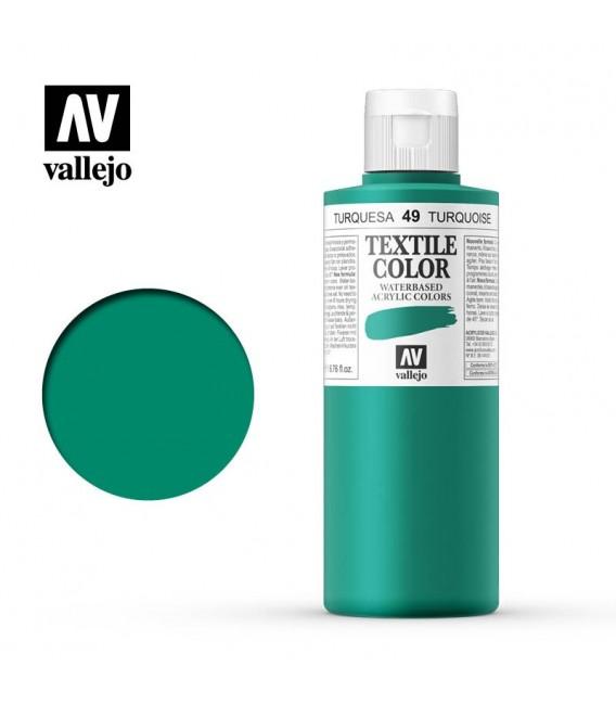 49 Duck Blue Textile Color Vallejo 200 ml.