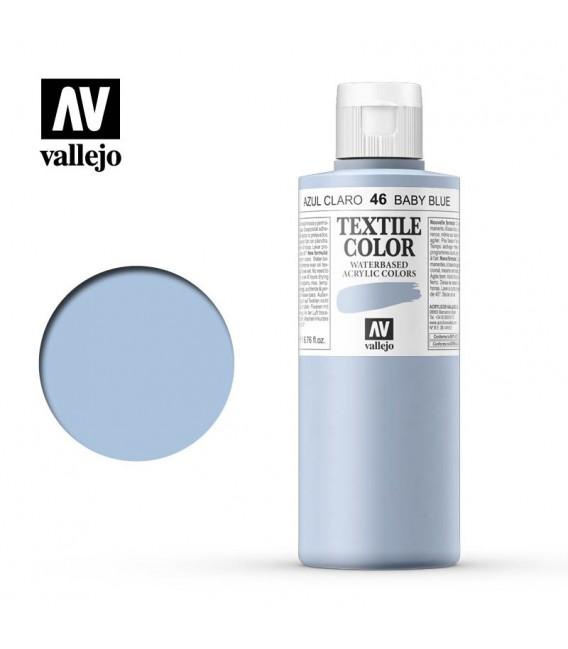 46 Baby Blue Textile Color Vallejo 200 ml.