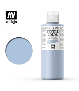 46 Baby Blue Textile Color Vallejo 200 ml.