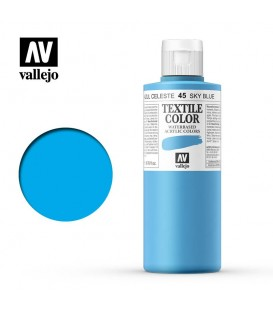 45 Oriental Blue Textile Color Vallejo 200 ml.