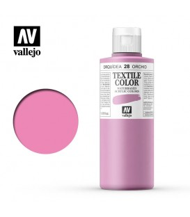 28 Orchid Textile Color Vallejo 200 ml.