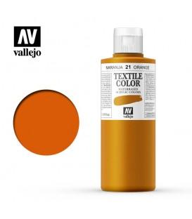 21 Orange Textile Color Vallejo 200 ml.