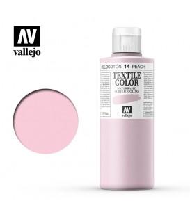 14 Peach Textile Color Vallejo 200 ml.
