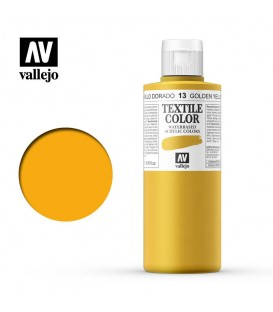13 Golden Yellow Textile Color Vallejo 200 ml.