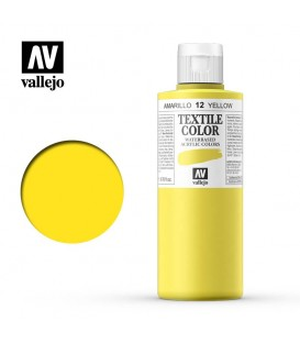 12 Yellow Textile Color Vallejo 200 ml.